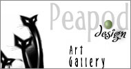 Peapod Design - My Art Gallery