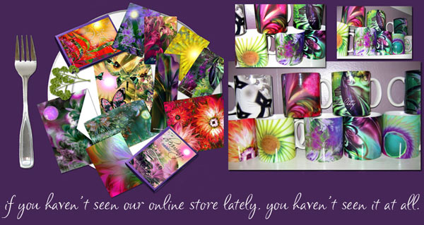 Shop here for stunnng art and spiritual gifts.
